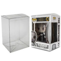 Clear Plastic Protector Cases for Funko Pop 4 inch Vinyl Figures Acid Free .50mm