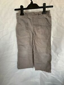 Boys. Cherokee, Mocha/Caramel. Casual Trousers. UK Size/Age 3-4 Years