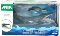 Ania BLUE WHALE & BABY Articulated Animal Figures by TOMY (Brand New) Free Ship!