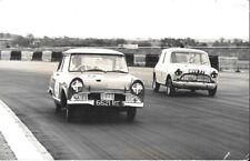 DKW AUTO UNION 6621 ME & MINI MVV 77 1961 RACING PHOTOGRAPH