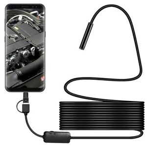 Waterproof USB Endoscope Snake Inspection Camera For Android Mobile Phone 1080P