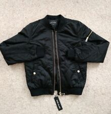 Ladies River Island Jacket Zip Front Quilted Size 10 BNWT