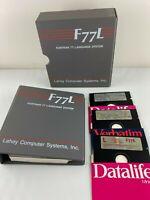 Vintage Lahey Fortran 77 F77L Language System Version 2.22 Floppy Software Box
