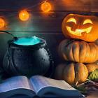 Halloween Cauldron Fog Machine Smoke Mister Mist Maker Color Changing Party Prop