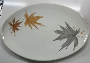 Vintage Iroquois Informal Harvest Time Ben Seibel Serving Platter Dish Modern