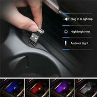 Mini USB LED Car Interior Light Strip Flexible Neon Atmosphere Tube Neon Lamp