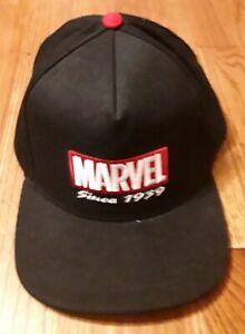 "Funko MARVEL Comics Universe ""Since 1939"" Black Baseball Cap"