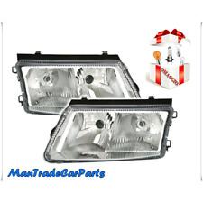 COPPIA FANALE FARO PROIETTORE ANTERIORE DX/SX H4+H1 VW PASSAT 3B2/3B5 1996->
