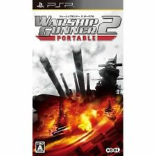 Used PSP Warship Gunner 2  SONY PLAYSTATION JAPAN IMPORT