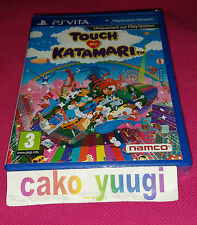 TOUCH MY KATAMARI SONY PS VITA NEUF SOUS BLISTER VERSION FRANCAISE