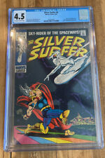 Silver Surfer 4 Cgc 4.5 Jack Kirby Thor No Reserve!
