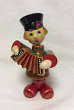 Russian Matryoshka - Handmade Linden Wood Doll - Boy Vanya Medium #4