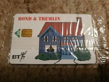 BT CHIP PHONECARD BOND & TREMLIN MINT SEALED
