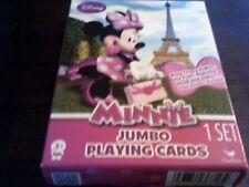 Disney Jumbo Minnie Playing Cards