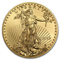 2018 1/10 oz Gold American Eagle BU