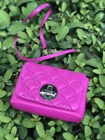 NWT KATE SPADE ASTOR COURT NAOMI QUILTED LEATHER CROSSBODY BAJA ROSE
