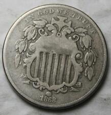 United States 1868 Shield Nickel