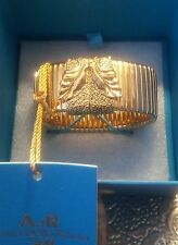 H&M Anna Dello Russo Gold Family Chunky Bracelet/ Bangle/ Cuff  BNIB