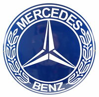 Enamel plaque MERCEDES 50 cm collectable sign logo plate WARRANTY-10 ys