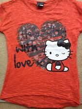 Hello Kitty  t-shirt age 8-9