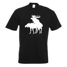 Elche kopulierend t-shirt motivo estampados funshirt Design Print