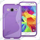 Accessorio Cover Custodia TPU Silicone Gel Motivo S S-Line Seri Samsung Galaxy