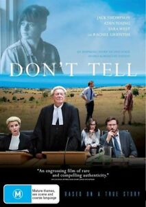 DONT TELL DVD, NEW & SEALED, FREE POST