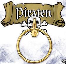 Piraten Ohrclip gold NEU - Zubehör Accessoire Karneval Fasching
