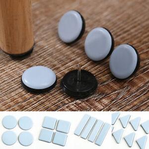 4pcs Slider Cushion Protector Furniture Table Feet Coaster Anti-abrasion Carpets