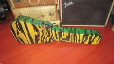 Vintage 1969 Gibson Les Paul Electric Guitar Hard Case Tiger Stripe Painted Cool