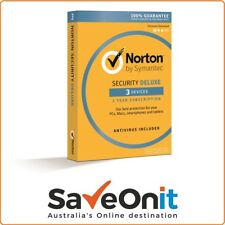 Norton Symantec Security Deluxe 2018 3 device / PC 1 year Email license key