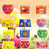 EVA Wallets Purse Kids DIY Handmade Craft Puzzle Educational Learning Toys Gift
