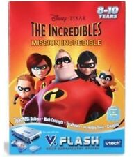 V Flash VTECH The Incredibles mission incredible complete