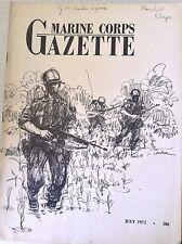 Marine Corps Gazette Magazine Division Recon In Europe July 1972 081717nonrh