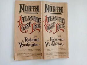 North Atlantic Coast Line via Richmond and Washington, February 1st, 1902