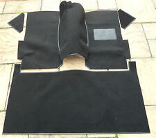 FORD ESCORT MK1 & MK2 NEW BLACK CARPET SET