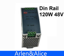120W 48V Din Rail Single Output Switching power supply