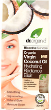 DR ORGANIC Natural Eco Coconut Oil Hydrating Radiance Elixir 30ml