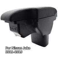 Centre Console Armrest For Nissan Juke ESQ 11-19 Arm Rest USB Storage Box