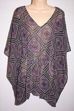 NWT Oneill Swimsuit Bikini Cover Up Dress Tunic Sz XS S BLU Adela