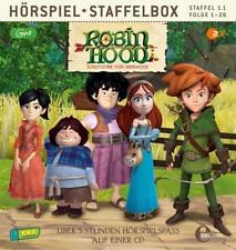 CD * ROBIN HOOD-SCHLITZOHR VON SHERWOOD - STAFFELBOX 1.1 - mp3 CD # NEU OVP &