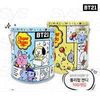 BTS BT21 Official Authentic Goods ChupaChups Classic 100u Tin 1100g + Tracking#