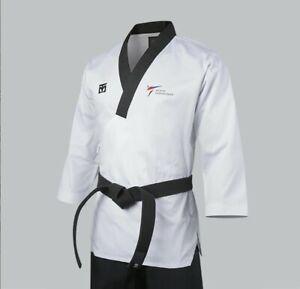 Mooto MEN POOMSAE Uniform Dan Dobok taekwondo Korea TKD WT Korean Tae Kwon Do