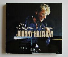 JOHNNY HALLYDAY  CD L'HYMNE A L'AMOUR