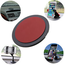 Hot Mount Car Cradle Holder GPS Adhesive Dash Board Suction Disc Disk Sticky Pad