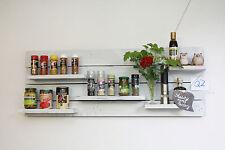 Vintage Wandregal Küchenregal Palettenmöbel uset look Regal Q 2  Regal weiß