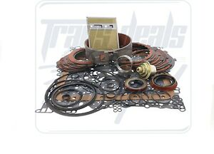 Fits GM Aluminum Powerglide Alto Red Eagle Deluxe Transmission Rebuild Kit