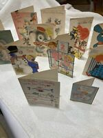 Vintage Ephemera Greeting Cards Baby Boy First Birthday Etc. 1960's Lot Of 11 !