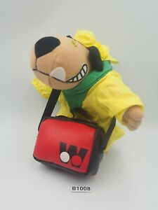 """Wacky Races Muttley Dog  B1008 Sun.L Plush 6"""" Doll Japan Hanna-Barbera"""
