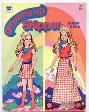 Vintage Whitman Barbie GROWING UP SKIPPER paper dolls 1976 uncut/excellent!